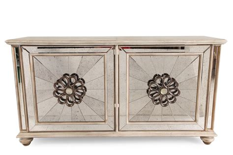 gold credenza rosette carved traditional credenza in gold mathis