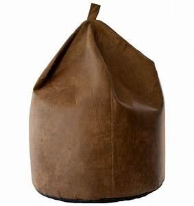 Super, Soft, Faux, Aged, Leather, Bean, Bag