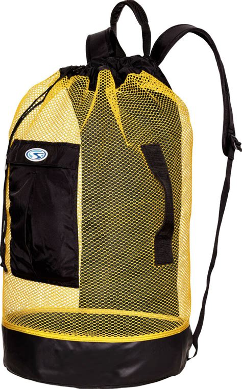 Dive Gear Bags by Stahlsac Panama Scuba Diving Travel Mesh Backpack Gear Bag