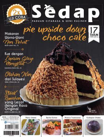 majalah sedap edisi   november