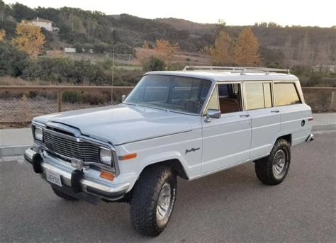 jeep grand wagoneer 1984 jeep grand wagoneer for sale on bat auctions sold