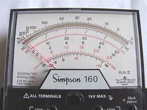 Simpson 160 Run Ii - Volt - Ohm