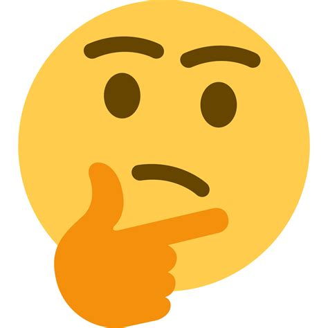 Download Thought Thinking Emoji Free HQ Image HQ PNG Image ...