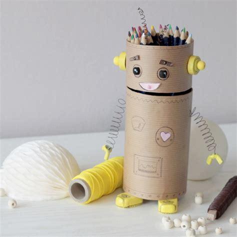 chambre adulte design moderne créer un pot à crayon recyclé idée créativeidée
