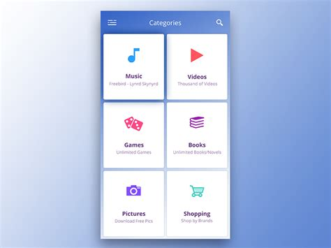 Category Page Design Uplabs