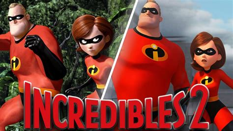 Incredibles 2 Animation Comparison Then And Now (2004 Vs
