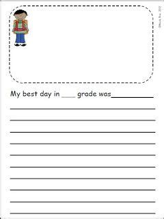 year count   summer writing journal