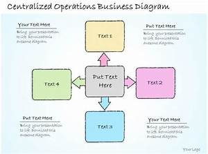 1113 Business Ppt Diagram Centralized Operations Business
