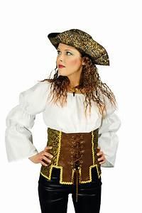 Damen Kostüm Piratin : piratin sexy piraten kost m damen kost m korsage korsett braun gold kost me ~ Frokenaadalensverden.com Haus und Dekorationen