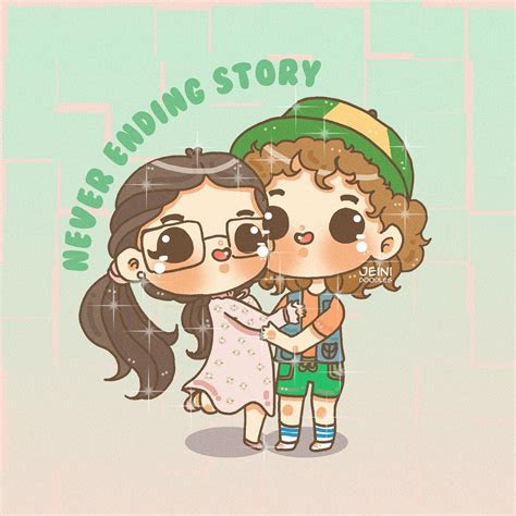 Stranger Things Suzie and Dustin by JeiniDoodles, Jeini ...
