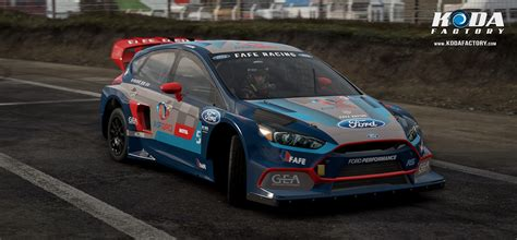 Focus Rs Rx by Koda Factory Fafe Racing Ford Focus Rs Rx Project Cars 2