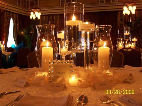 Candles Lights Centerpieces Ideas Wedding Decor Candles