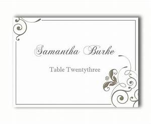 place cards wedding place card template diy editable With table placement cards templates