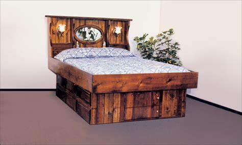waterbed headboards king size hardside waterbed crestwood bookcase headboard free