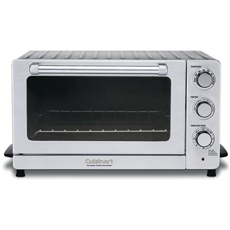 oven broiler convection toaster oven broiler cuisinart