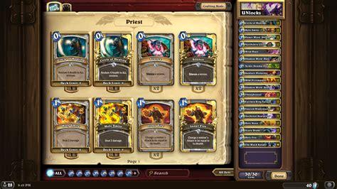 hearthstone priest hybrid legendary rank deck guidescroll