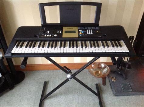 yamaha ypt 220 yamaha ypt 220 electric keyboard with adjustable stand