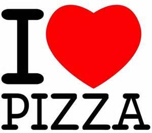 I Love Pizza Logo