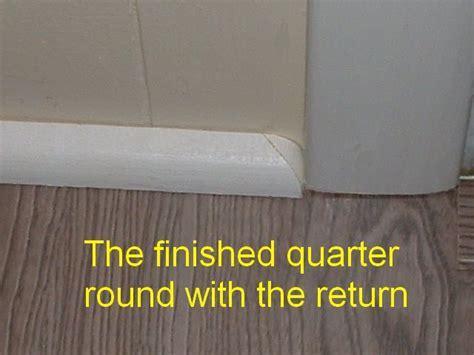 Cutting Quarter Round Returns