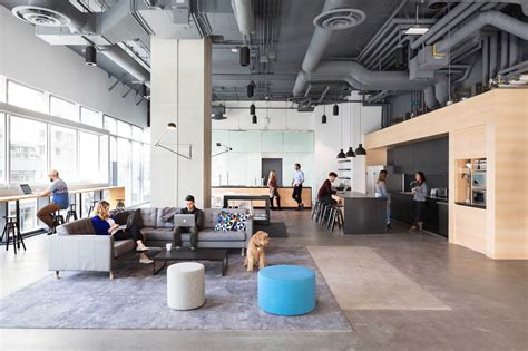 bench accounting office interiors perkinswill archdaily
