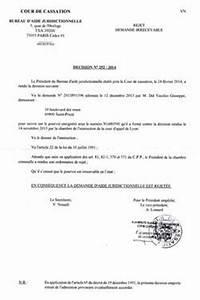 COUR DE CASSATION Monsieur Le Prsident Du Bureau D39Aide