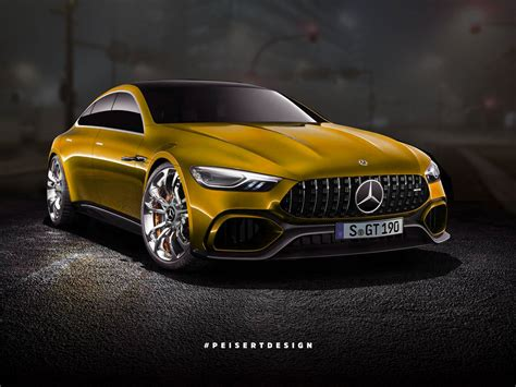 mercedes amg gt concept turned into a somewhat more