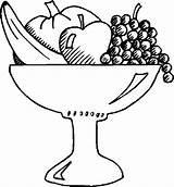 Salad Fruit Bowl Coloring Basket Pages Drawing Fruits Printable Getdrawings Drawings Sketch Getcolorings Template Getcoloringpages Paintingvalley sketch template