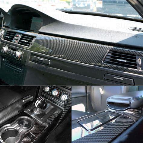 car interior carbon fiber vinyl 10x30cm 5d high glossy carbon fiber vinyl car styling