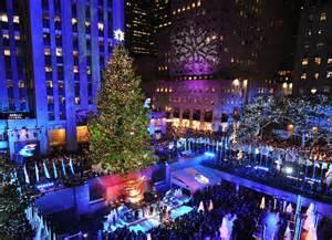 Rockefeller Plaza Christmas Tree Lighting 2015 Performers by New York Connor Jackson Seaj253