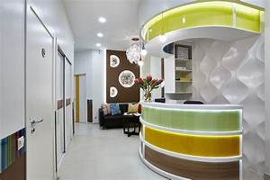 Cheerful Dentist's Office That You Would Like to Visit