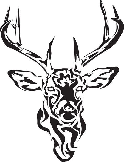 black tribal deer tattoo design deer deer tattoo stag
