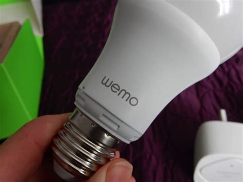 wemo led lighting starter set belkin s wemo led lighting starter set review feature