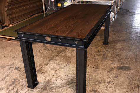 Firehouse Table ? Vintage Industrial Furniture