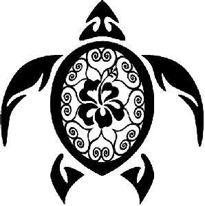 hawaiian turtle clipart clipartioncom