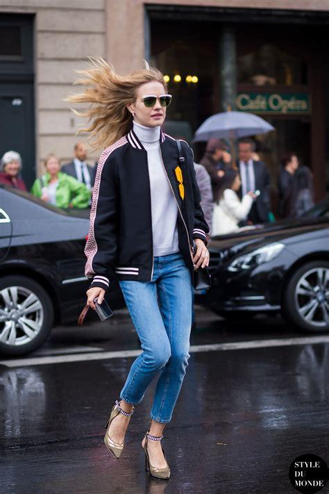 paris fw ss street style natalia vodianova style du