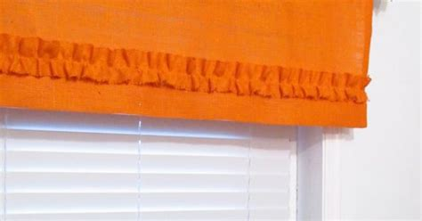Burlap Ruffled Valance Orange Rustic Curtain By Patete Kitchen And Bath 36 Inch Round Table Tuscan Style Kitchens Alfredo Italian Big Mamas Cabinet Cleaners Designers School