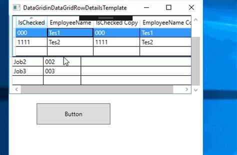 wpf datagrid template wpf datagrid rowdetails template scrollbar issue