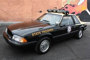 1992 Ford Mustang SSP Police Car for sale on BaT Auctions - sold for $14,444 on December 30 ...