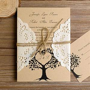 lace wedding invitations at elegant wedding invites With wedding invitations with tree theme