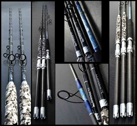 rods rod grouper spiral wrapped acid barrett connelly custom am fishing torn hull thehulltruth