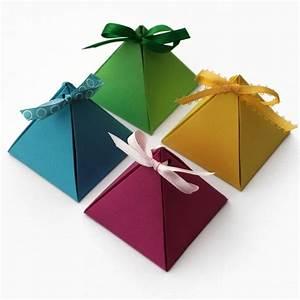 Kleine Geschenke Verpacken : schachteln basteln pyramide kleine geschenke basteln geschenke schachteln basteln und ~ Orissabook.com Haus und Dekorationen