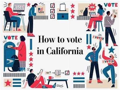 Vote California Election Elections Washington