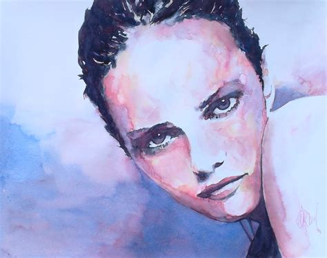 olivier bartoli watercolor art people gallery