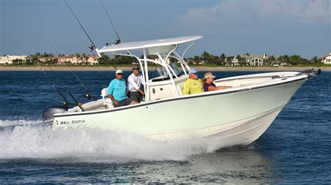 Bay Boat Must Haves by Sea Born Sx239 Fishes Big For Salt Water Sportsman
