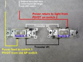 3-Way Light Switch Diagram