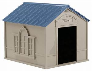 suncast large dog house w taupe and blue finish With suncast extra large dog house