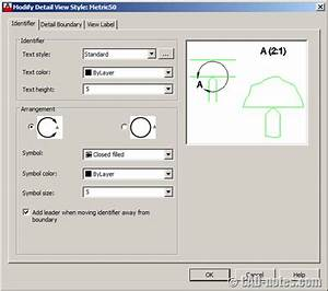 AutoCAD 2013: Create section and detail views | CADnotes