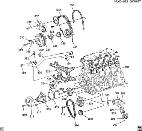 Engine Asm Part Front Cover Cooling