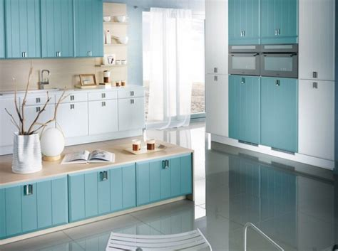 bleu orleans cuisine code couleur comment décorer une cuisine bleue