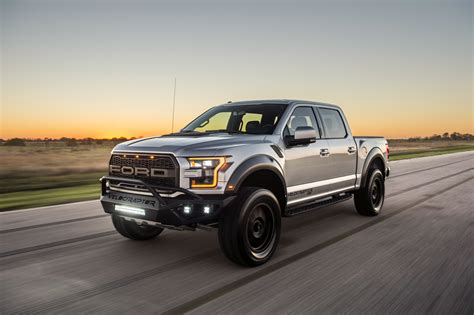 The Mean-looking Hennessey Velociraptor Ford Raptor Hits